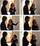 Contemporary Art Projects, Talk with Glauce Cerveira, video stills.
