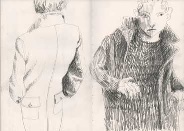 Sketchbook A4-02, 22. Graphite sketch (anti-fashion).
